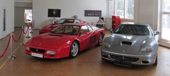 Ferrari 512TR und Ferrari 575M